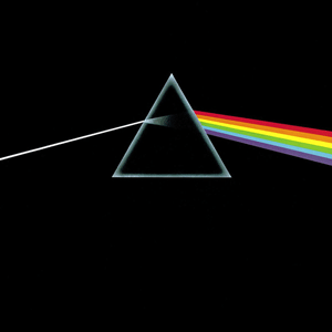 Pink Floyd's famous album cover shows a prism.