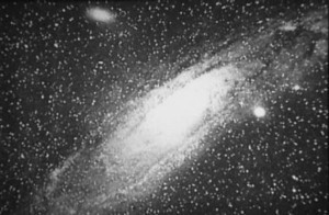 First photograph of the Great Andromeda Nebula by Isaac Roberts, 1899