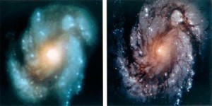 Hubble was a big step forward.